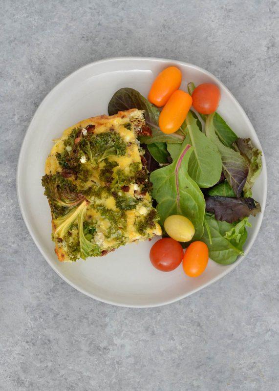 Greek Egg Bake Meal Prep --4