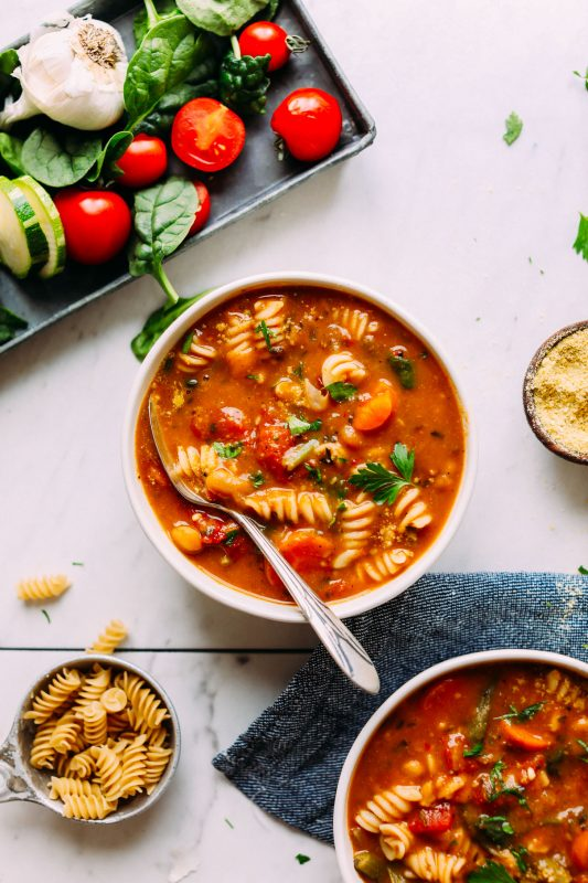 One Pot Vegan Minestrone
