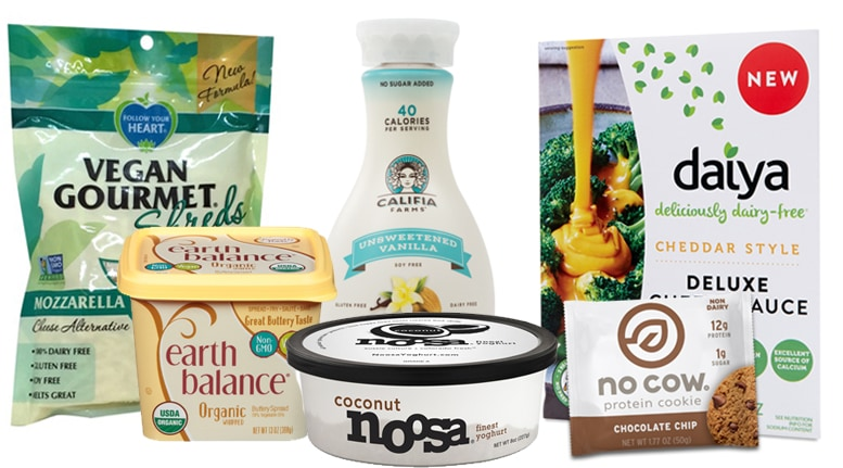 dairy alternative products