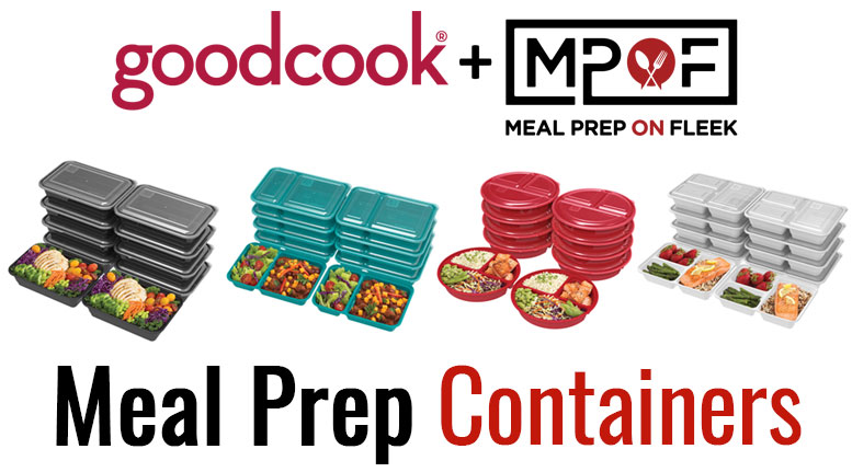 Meal Prep on Fleek Meal Prep Containers
