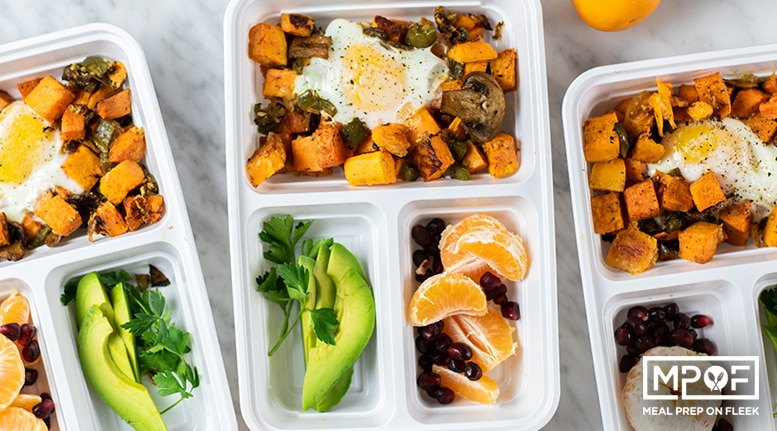 Sheet Pan Sweet Potato Breakfast Hash