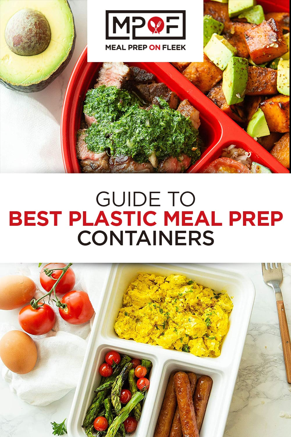 best plastic meal prep containers