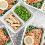 Baked Fish and Chips Meal Prep