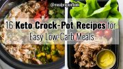 keto crock pot recipes