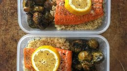 Weekend meal prep combos