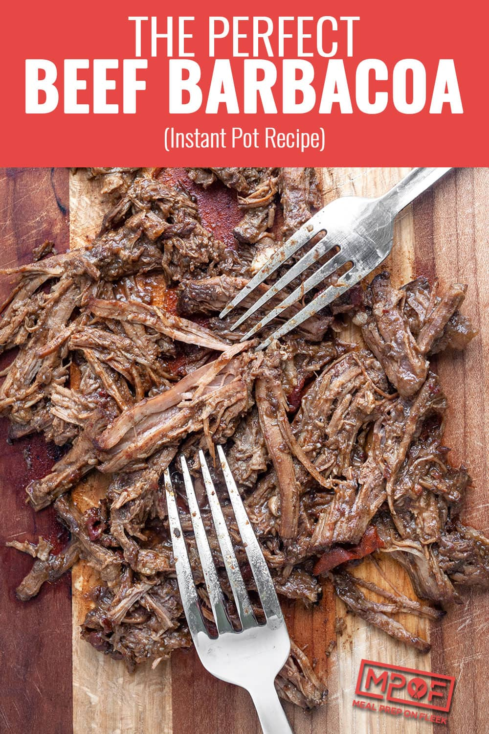 Instant Pot Beef Barbacoa Recipe