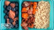 Loaded Sausage and Bacon Breakfast Casserole Meal Prep