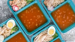 Chicken Ramen Meal Prep