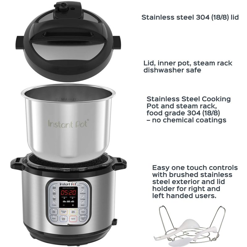 Instant pot rice cooker