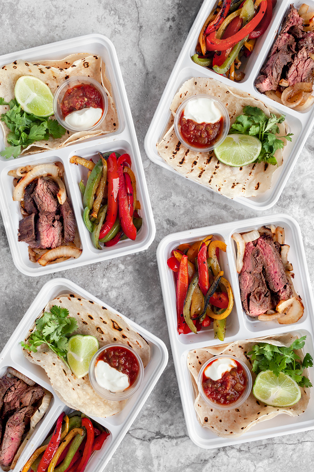 Steak Fajita Meal Prep
