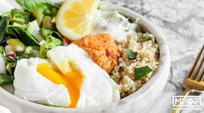 Middle Eastern Breakfast Salad Bowls