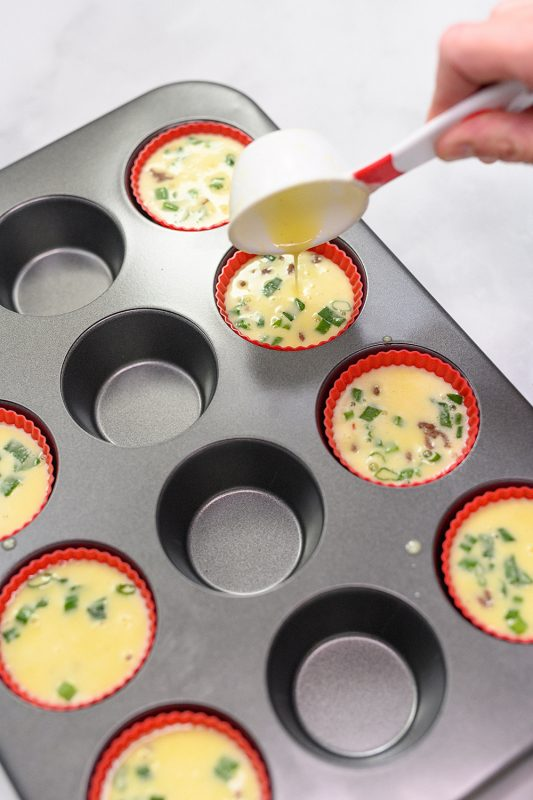 Beef Breakfast Sausage Egg Cups