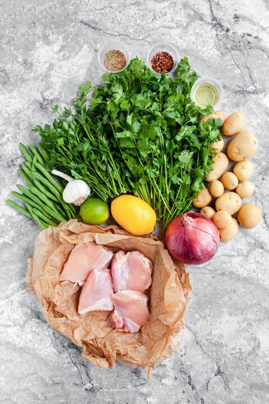 Sheet Pan Chimichurri Chicken and Veggies