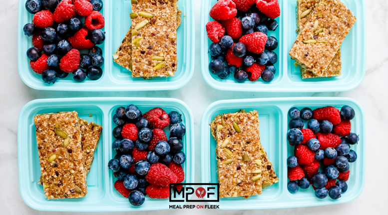Sheet Pan No Bake Paleo Energy Bars