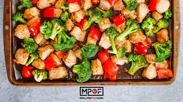 Sheet Pan Asian Chicken and Vegetables