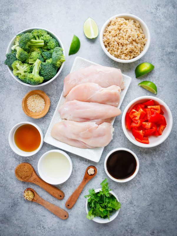 Sheet Pan Asian Chicken