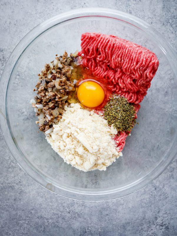 Cremini Mushroom Meatloaf