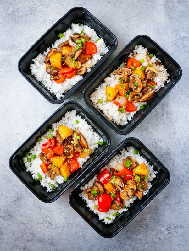 Sweet and Sour Mushrooms