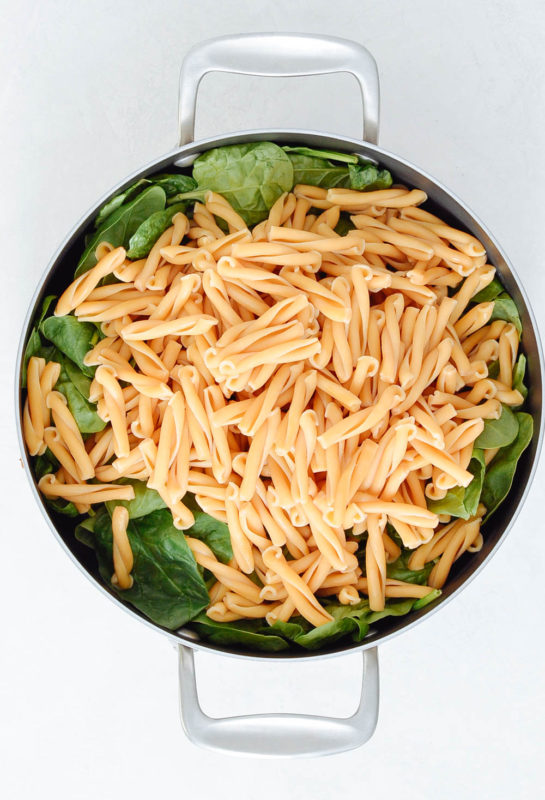 Caprese Pesto Sausage Pasta