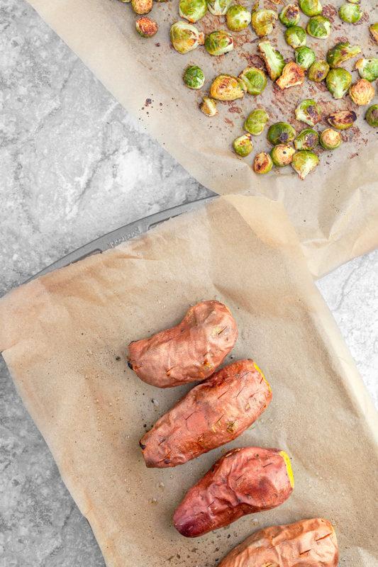 Turkey Stuffed Sweet Potatoes