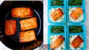 Asian Air Fryer Salmon