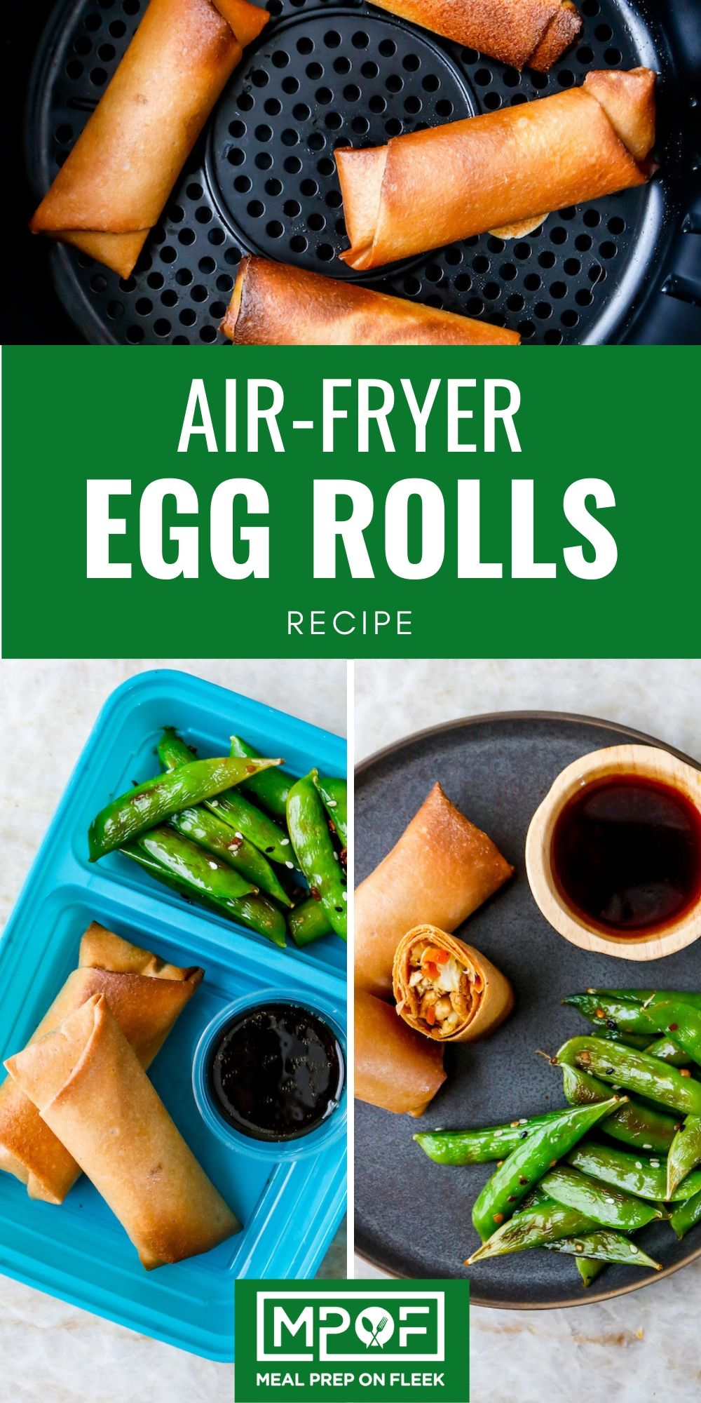 Air Fryer Egg Rolls