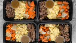 Instant Pot Roast with Mashed Potatoes