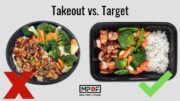 take out food vs make at home food