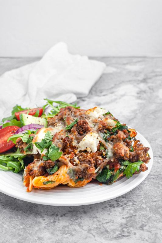Beef Lasagna Casserole