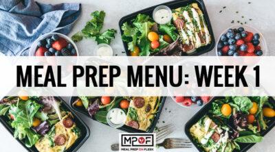 Meal-Prep-Menu-Week-1