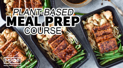 plant based meal prep course