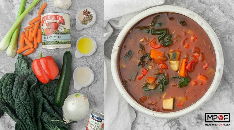 Instant Pot Minestrone Soup