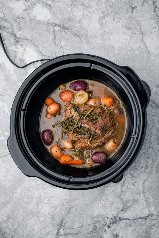 Pot Roast with Au Jus