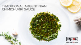 traditional Argentinian chimichurri sauce recipe