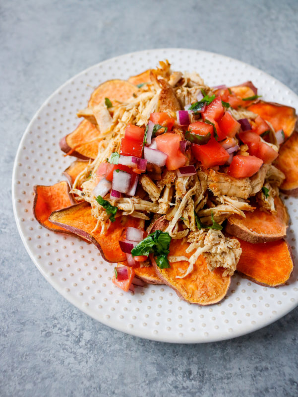 Chicken Carnitas Nachos