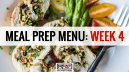 Meal Prep Menu: Week 4