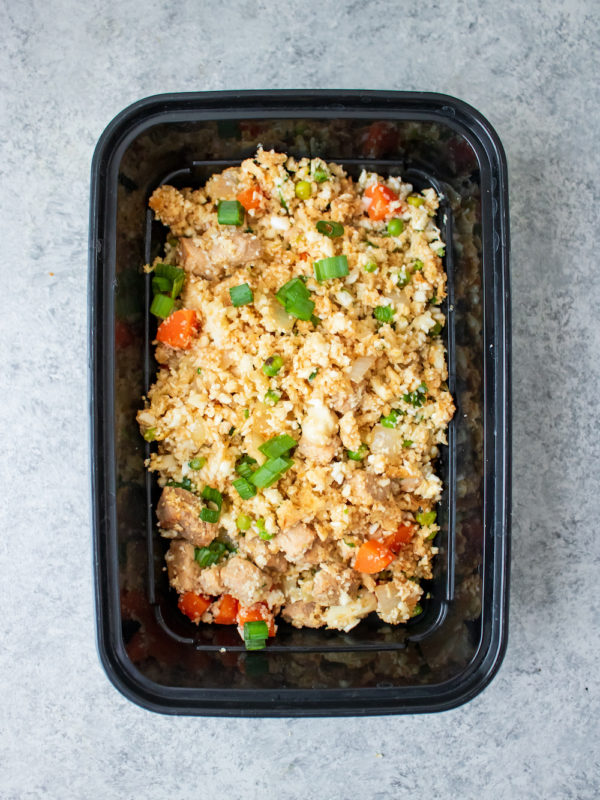 Pork Fried Cauliflower Rice
