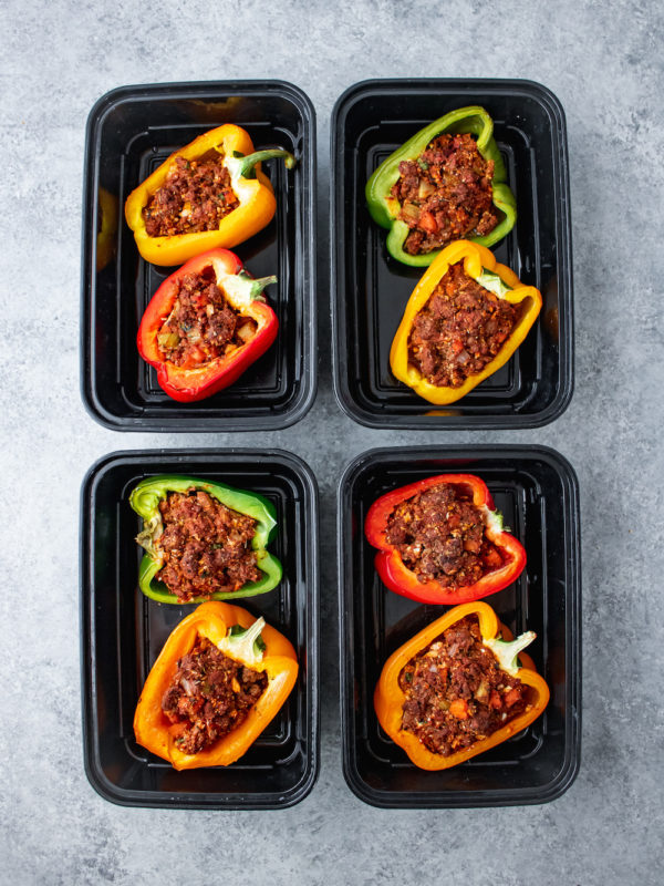 Cajun Stuffed Peppers