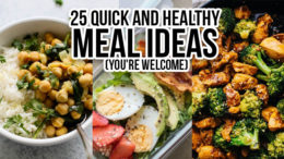 25 Quick and healthy breakfast ideas