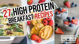 27 High Protein Breakfast Recipes