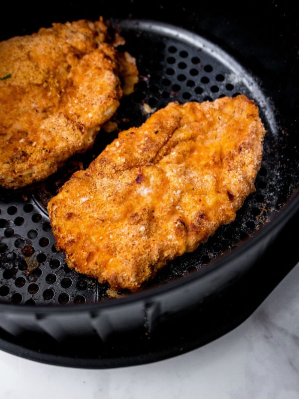 Air Fried Chicken Schnitzel