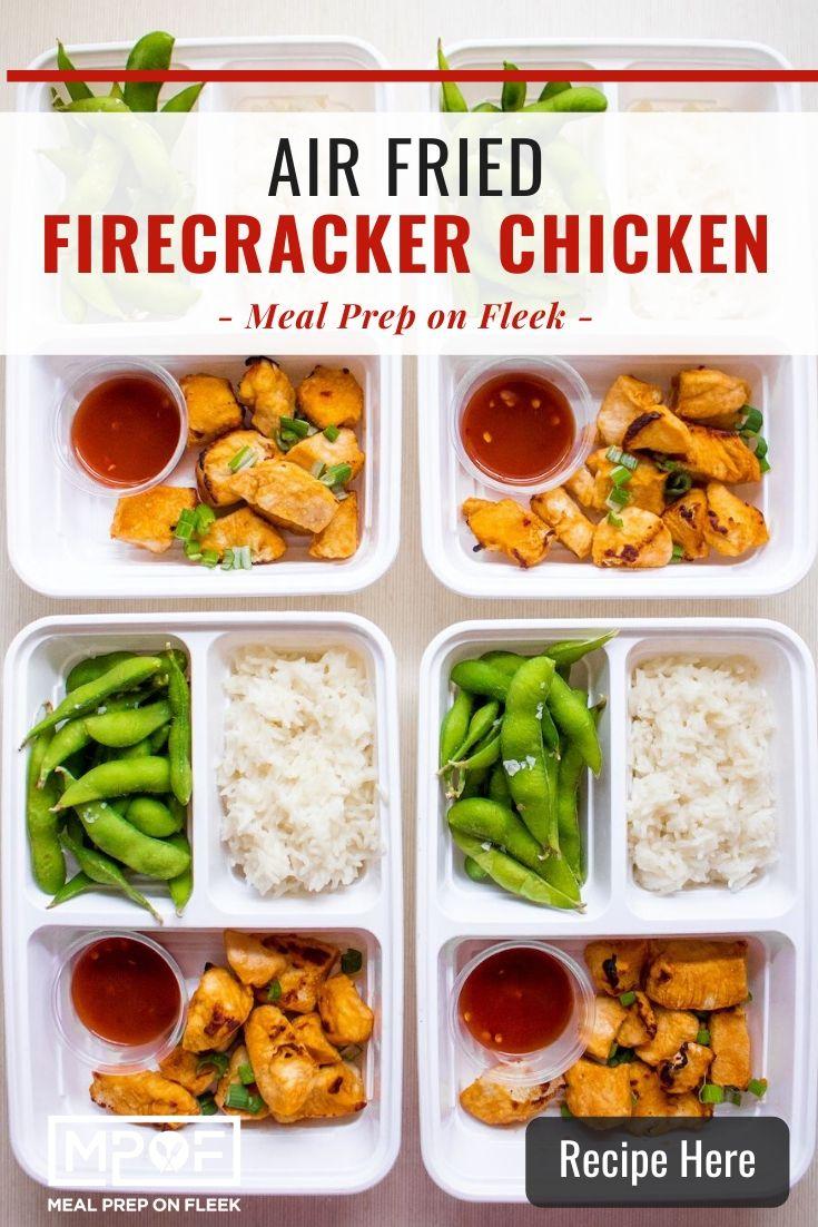 Air Fryer Firecracker Chicken