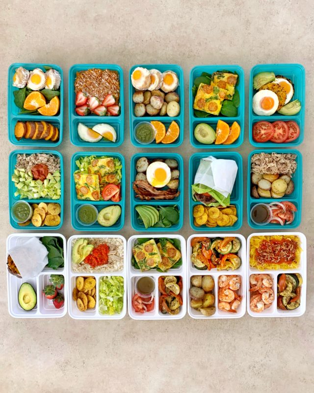 Buffet Style Meal Prepping: Whole30