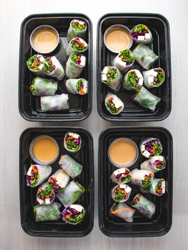 Watercress Spring Rolls