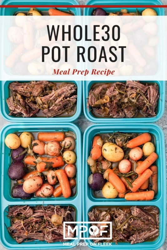Whole30 Pot Roast