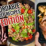 Meal Prep Menu: Week 20