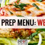 Meal Prep Menu: Week 16 (Plant-Based)