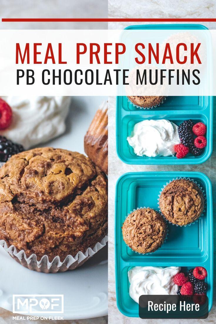 Peanut Butter Chocolate Muffins