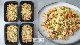 Pork Fried Cauliflower Rice