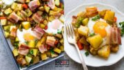 Sheet Pan Breakfast Hash and Eggs